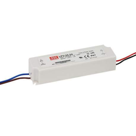 Alimentation LED MEANWELL 24V IP65